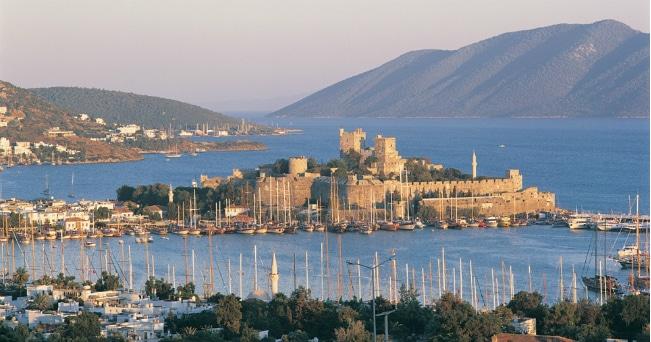 Veduta del castello (ph Turchia - Ufficio Cultura e Informazioni www.turchia.it)