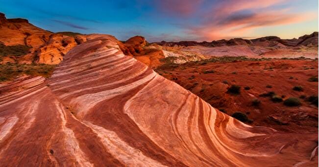 Valley of Fire State Park nel Nevada (© 2014 Clint Losee, Las Vegas News Bureau)