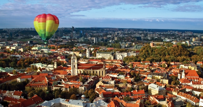 Vilnius (ph Lithuania State Department of Tourism)