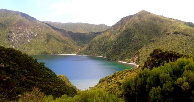 Il lago Fogo nell'isola di Sao Miguel (PH Visit Azores)
