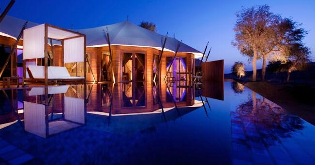 Il Banyan Tree Al Wadi, il desert-resort a Ras al-Khaimah, negli Emirati Arabi Uniti