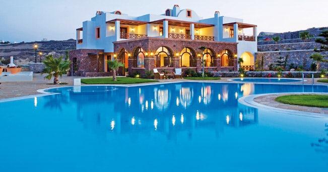 Santorini, Maison Des Lys