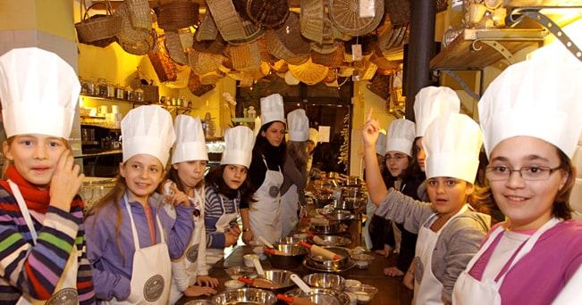 lezione di cucina per bambini california bakery milano