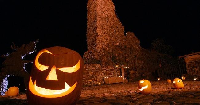 Zucche di Halloween a Triora