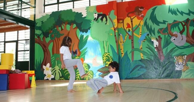 Piccoli allievi di capoeira