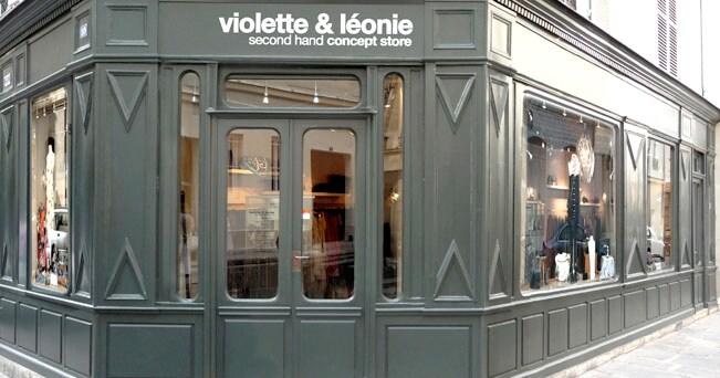 90e7ca003882 Il negozio Violette Léonie