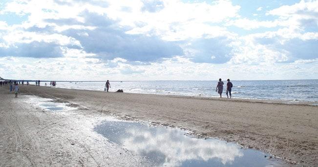 La spiaggia di Jurmala