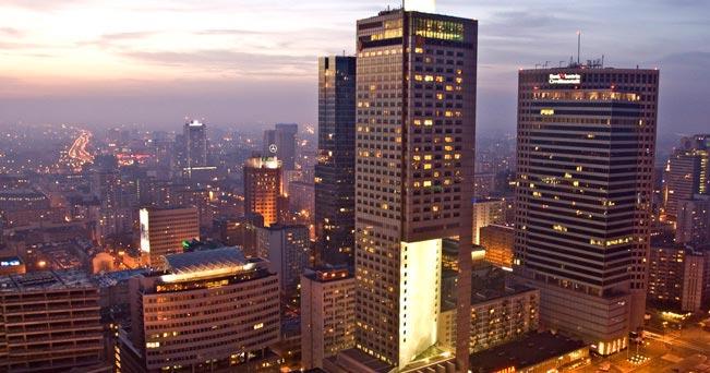 Lo skyline di Varsavia