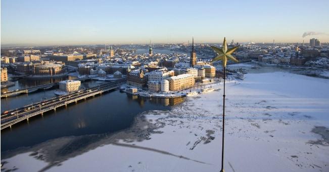 Veduta di Stoccolma sotto la neve (Henrik Trygg/imagebank.sweden.se)