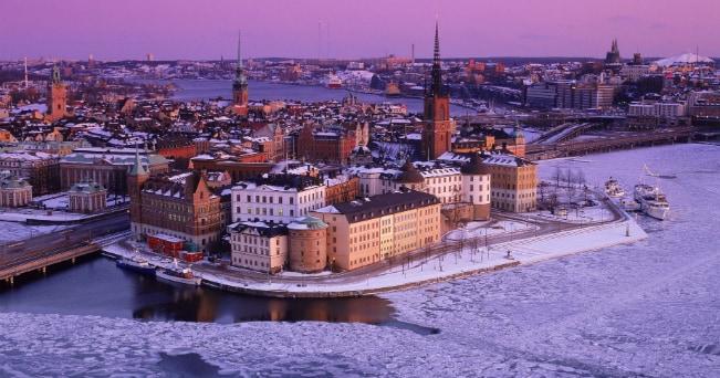 Veduta della città vecchia di Stoccolma (foto Milestone Media)