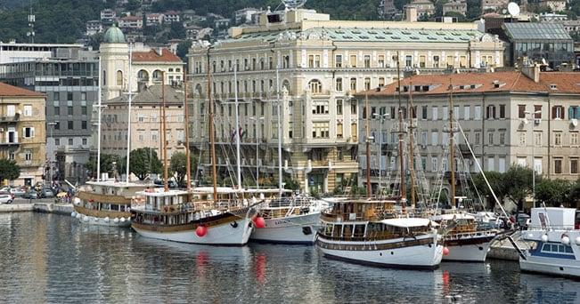 Il porto di Fiume-Rijeka (PH Photonet)