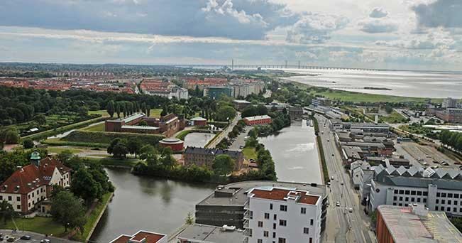 Una veduta di Malmo dall'alto (PH IPA)