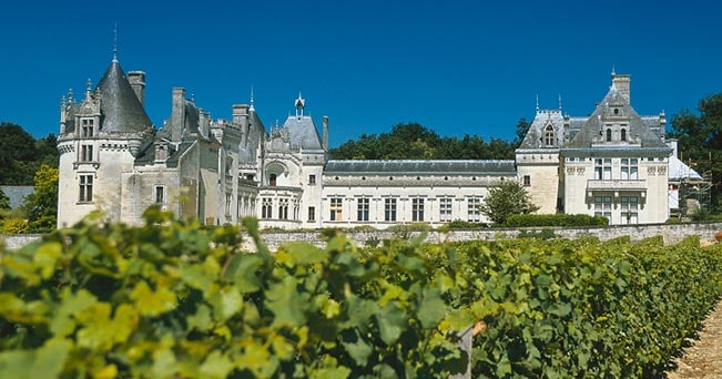 Chateau de Brézé, di cui è possibile visitare i sotterranei (foto jean Pierre Klein per Tourisme Anjou)
