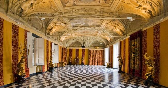 Il secolo d 39 oro di genova invito a palazzo il sole 24 ore for Interni salone