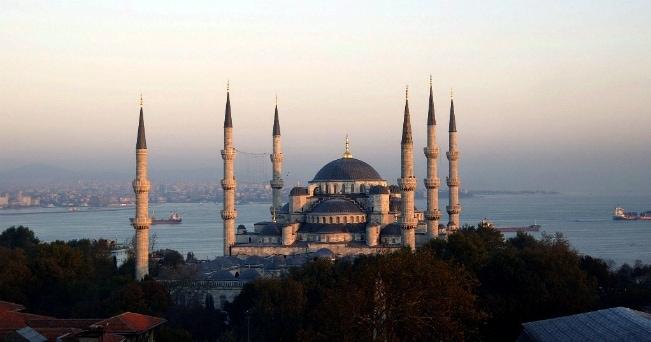 Veduta della Moschea Blu