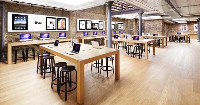 Apple Store di Covent Garden (foto: Courtesy of Apple)