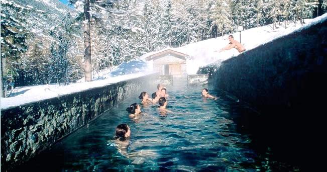Bormio inverno alle terme sci compreso il sole 24 ore - Terme bagni vecchi bormio ...