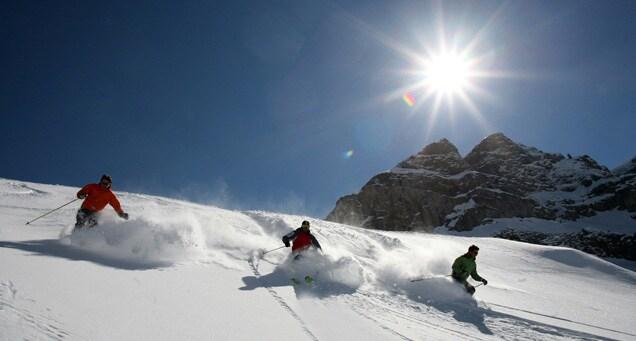 Un fuoripista in Val Badia