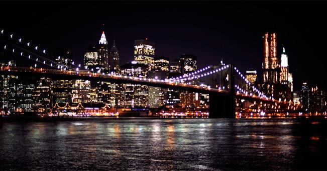 Manhattan tour con architetto il sole 24 ore for Foto new york notte