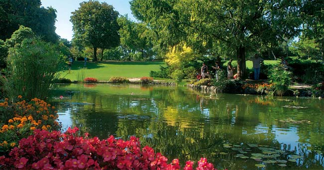 Castelli di garda weekend sul lago il sole 24 ore - Parco giardino sigurta valeggio sul mincio vr ...