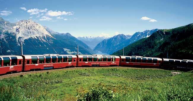 Engadina, in treno nel cuore delle Alpi