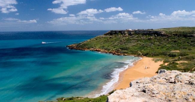 Veduta della spiaggia di Ramla (foto Milestone Media)