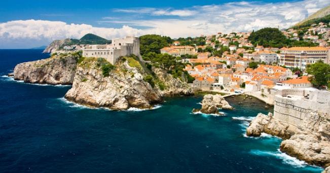 La città di Dubrovnik (foto Milestone Media)