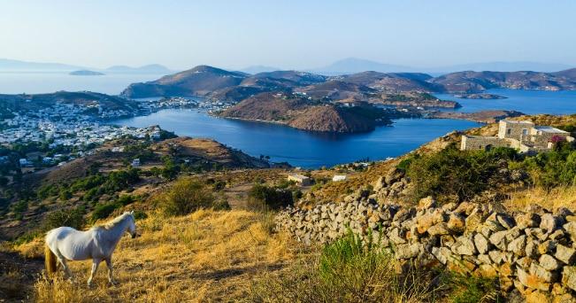 L'isola di Patmos (foto Milestone Media)