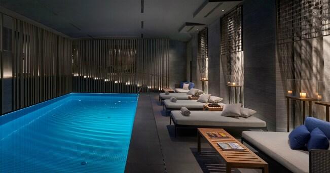 La spa del Mandarin Oriental di Milano