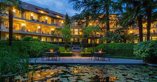 L'esterno di Villa Eden Leading Park Retreat di Merano (PH Villa Eden)