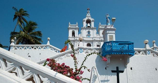 Chiesa dell'Immacolata Concezione a Panaji, Goa (foto Milestone)