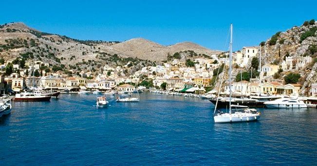mediterraneo  isole top symi il sole  ore