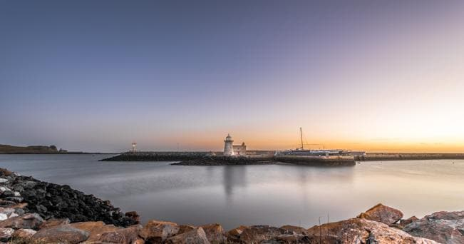 Sunrise at the Howth lighthouse, Dublin, Ireland © Copyright Giuseppe Milo and licensed for reuse under this Creative Commons Licence https://www.flickr.com/photos/giuseppemilo/