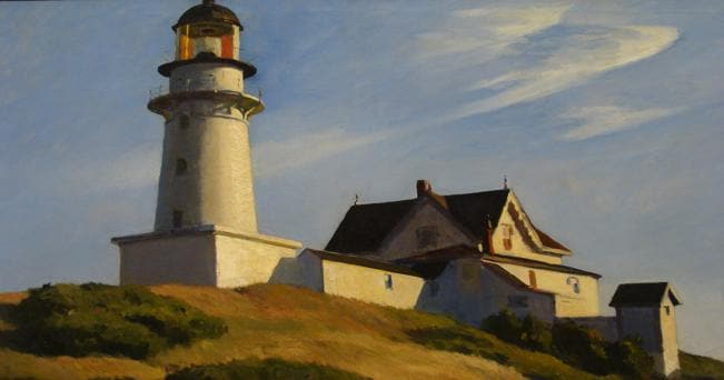 ph di Ben Sutherland- The Lighthouse At Two Lights (Edward Hopper)- Flickr
