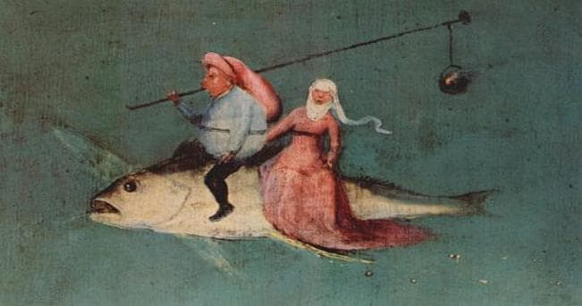 Dipinto di Hieronymus Bosch, ph da: Wikimedia