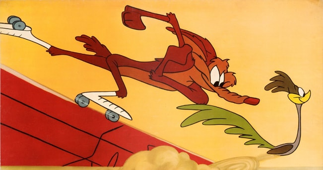 Thats all folks! bugs bunny e willy coyote a torino il sole 24 ore