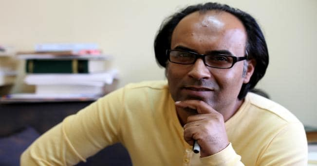 Ahmed Saadawi, il vincitore dell'l'International Prize for Arabic Fiction 2014  (Photo c.Kheridine Mabrouk)