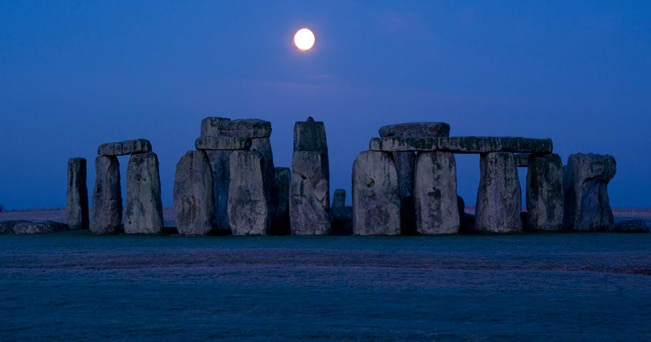 Stonehenge (foto Travel Pictures / Alamy)