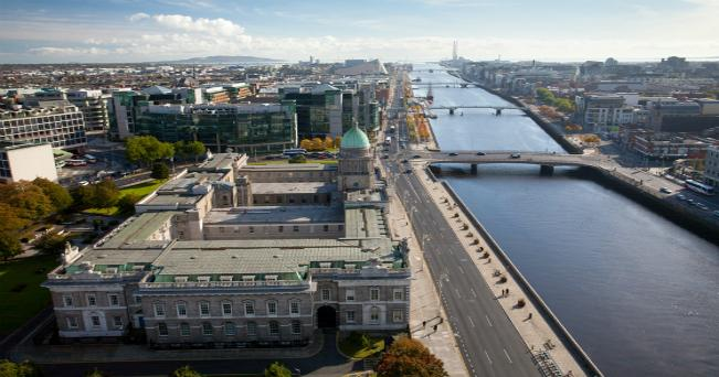 Veduta di Dublino (foto Turismo Irlandese)