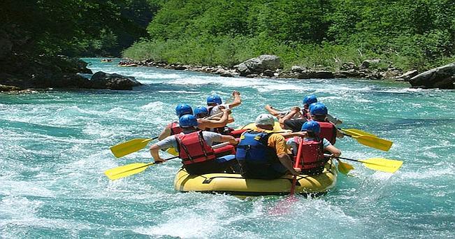 Rafting tra i torrrenti della Valnerina