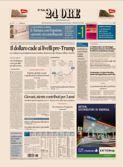 Edizione del 28 Marzo 2017