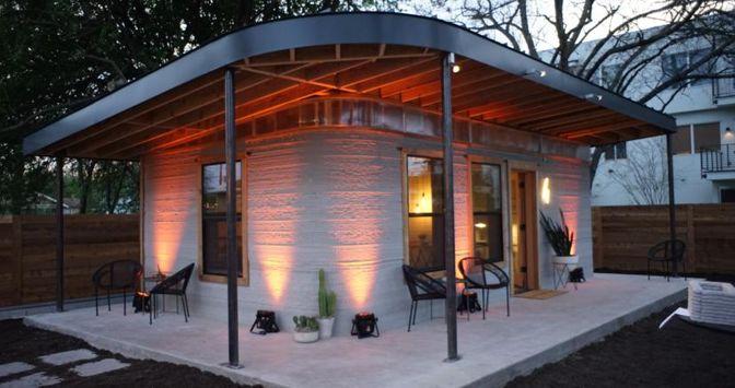 Un alloggio stampato in 3D realizzato in Texas da Icon
