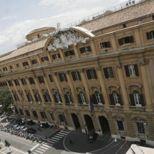 Roma. La sede del ministero del Tesoro (Fotogramma)