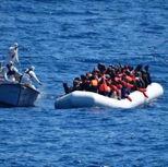 Gasr Garabulli (Castelverde), città costiera a 64 chilometri a est di Tripoli. Da questo porto prendono il mare i barconi carichi di migranti che, dai paesi del Sahel, si riuniscono ad Agadez, in Niger, città crocevia delle carovane che attraversano il Sahara alla volta dell'Europa (nella foto Ansa un gommone in avaria carico di migranti viene soccorso)