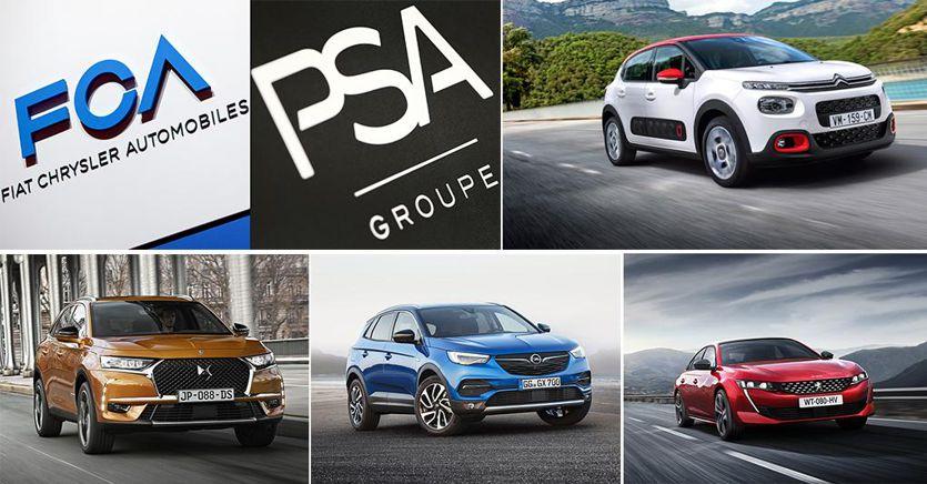 Alleanza FCA PSA: i modelli più importanti dei due gruppi
