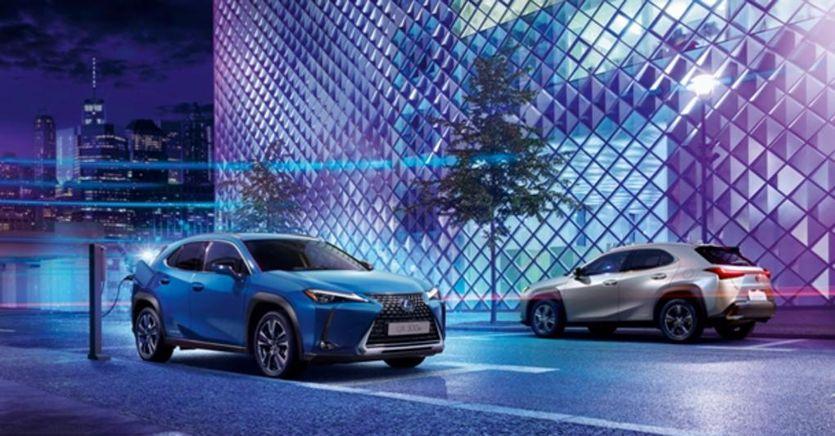 Lexus UX, debutta prima full electric del brand di lusso del Gruppo Toyota
