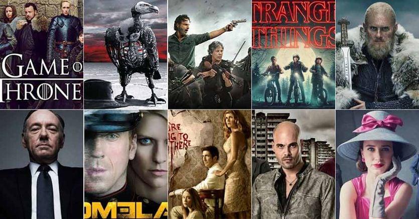 Da Stranger Things al Trono di Spade: ecco le dieci serie tv del decennio
