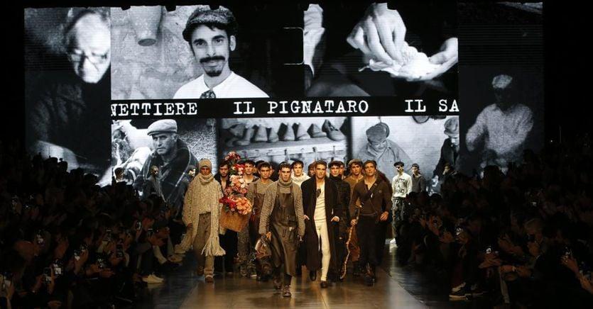 L'omaggio di Dolce&Gabbana a (tutti) gli antichi mestieri