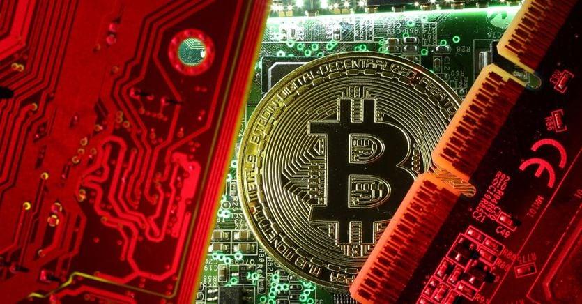 Il crollo del bitcoin