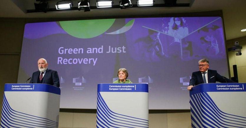 Ue, 55 miliardi aggiuntivi in tre anni per la politica di coesione